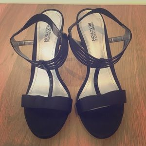 Kenneth Cole Reaction Satin Sandals